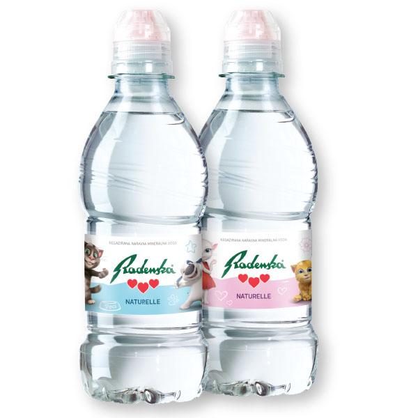 Voda Radenska Naturelle, junior, 0,33l