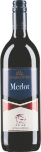 Vino Merlot, alk.12,5 vol%, 1l