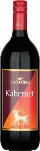 Vino Kabernet, alk. 13 vol %, 1 l