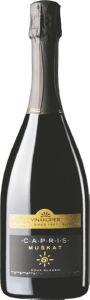 Peneče vino Capris Muškat, alk.11 vol.%, 0,75