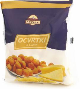 Ocvrtki s sirom Pečjak, zamrznjeno, 500 g