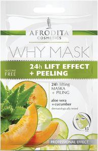 Maskara Afrodita, 24h, lift+peeling, 2x6ml