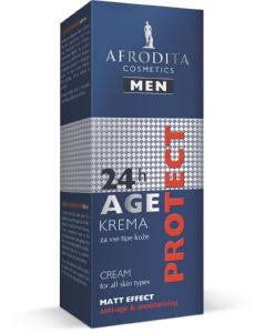 Krema Afrodita, Age, Protect men, 50ml