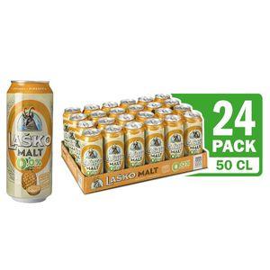 Pijača Malt Laško Ananas, 0,5l