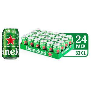 Pivo Heineken, alk.5 vol%, 0,33l