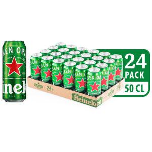 Pivo Heineken, alk.5 vol%, 0,5l
