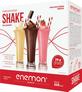 Enemon Slim&Fit shake mix, 360g