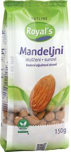 Mandelj Rojal`s, olušč.surovi, 150g
