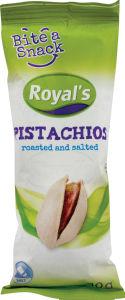 Pistacija Royal's Bite a snack, pražena in soljena, 40g