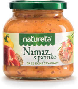 Namaz Natureta s papriko, 290g