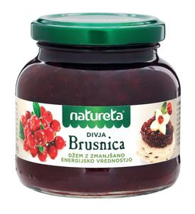 Džem Natureta, brusnica, 210g