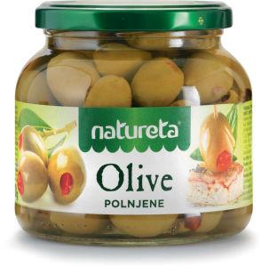 Olive Natureta, polnjene, 530g