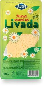Sir Livada Pom.mlekarne, rezani, 150g