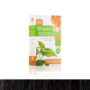 Barva za lase Respect, 03, temno rjava