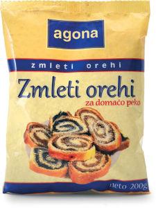 Orehi Agona, mleti, 200 g
