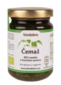 Omaka Bio čemaž, z bučniumi semeni, 130 g
