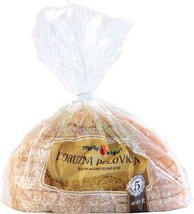 Kruh, polovička koruzna, 400 g