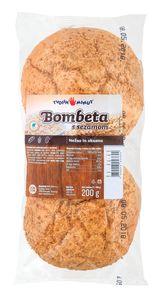 Bombeta s sezamom, 2/1, 200g