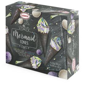 Kornet Mermaid, 4x130ml