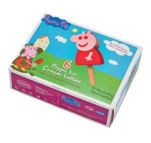 Sladoled palčka, Peppa pig, 6x60ml