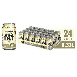 Pijača Jabolčni tat, bezeg, alk.4,5 vol.%, 0,33l