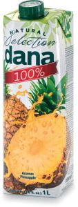 Sok Dana, ananas, 100%, 1l