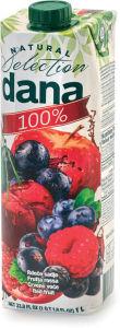 Sok Dana, rdeče sadje, 100%, 1l