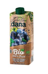 Sok Bio Dana, 100%borovnica, TP 0,75l
