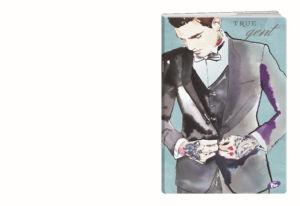 Zvezek A4 Elisa, karo, Touch of Ink, 52 l
