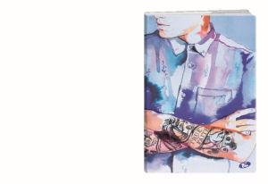 Zvezek A4 Elisa, črte, Touch of Ink, 80 listni