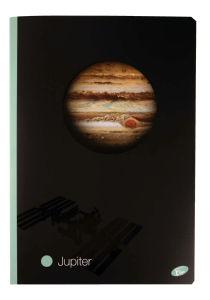 Zvezek Planeti, A4, črte, 52list