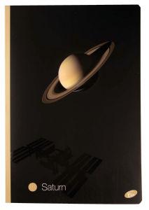 Zvezek Planeti, A4, mali karo, 52list