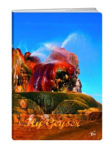 Zvezek A4 Elisa, črte, narava, 80 listni