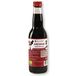 Bio sok aronija 100%, 330ml
