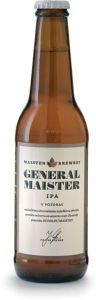 Pivo General Maister ipa, alk.6 vol%, 0,33l