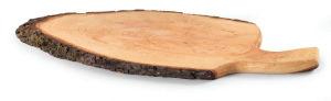 Deska z lubjem in ročajem, voskana, 60-70cm