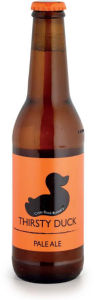 Pivo svetlo Thirsty duck pale ale, alk.5,4 vol%,0,33l