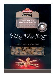 Testenine Divita, polži št. 32 iz 5 žit, 500 g