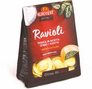 Ravioli Divita, špinača in ricotta, 250g