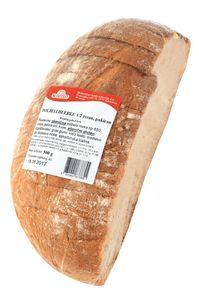 Kruh polbeli hlebec, rezan pakiran, 500g