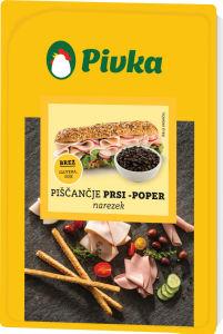 Narezek piščančje prsi, poper, 100 g