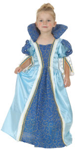 Kostum baby princeska modra