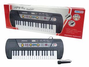 Piano mikrofon 37 tipk, baterijski
