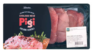 Svinjski zrezki Pigi ledja, 500g