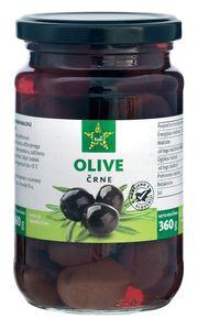 Olive Tuš, črne, 360g