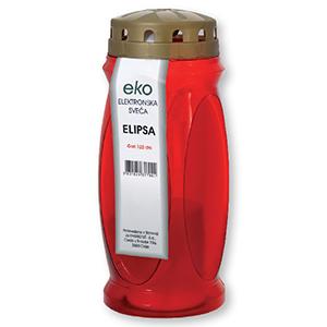 Sveča Eko elektronska Elipsa, 120 dni