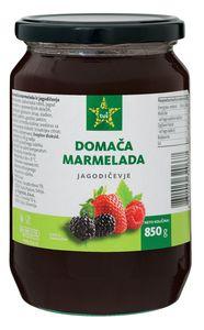 Domača marmelada Tuš, gozdni sadeži, 850g