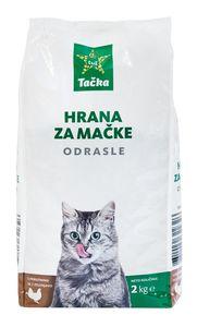 Briketi za mačke Tačka, perutnina, zelenjava, 2kg