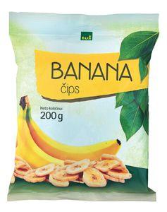 Bananin čips Tuš, 200g