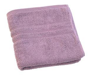Brisača Decoris, vijolična, 50x100cm